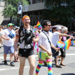 Постер, плакат: LGBT Pride Parade participants in New York City