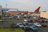 Kalitta air boeing 747 all'aeroporto jfk di new york — Foto Stock