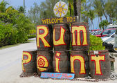 The Rum Point Grand Cayman — Stock Photo