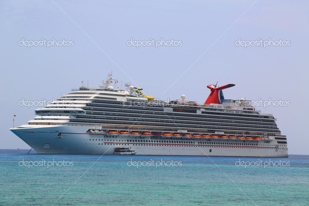 Photos of Carnival Dream Ship Grand Cayman June 11 Carnival Dream Cruise Ship Anchors at The Port of