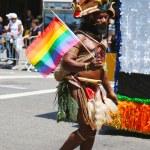 Постер, плакат: LGBT Pride Parade participant in New York City