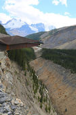 Glacier Skywalk in Jasper National Park — Stock Photo