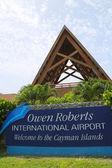 Owen Roberts International Airport at Grand Cayman — Stock Photo