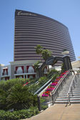 The entrance on The Wynn Encore Hotel and Casino — Stock Photo