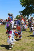 Unidentified Native American dancers at the NYC Pow Wow — Photo