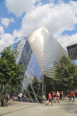 September 11 Museum in September 11 Memorial Park in Lower Manhattan — Foto Stock