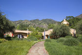 The Quixote Winery in Napa Valley built by Viennese architect Friedensreich Hundertwasser — Stock Photo
