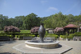 Beringer Vineyards fountain in Napa Valley — Stockfoto