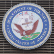 Department of the Navy logo on U.S. Armed Forces Recruiting Station at Times Square — Stock Photo #51044157