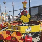 Kids ride at Coney Island Luna Park — Stock Photo #51207853