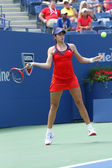 Professional tennis player Christina McHale during third round match at US Open 2013 — Stock Photo