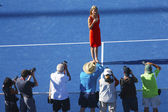 Induction ceremony for ten times Grand Slam champion Monica Seles into Court of Champions at Billie Jean King National Tennis Center — Stock Photo