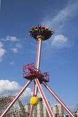 Luna 360 Thrill ride in Coney Island Luna Park — Stock Photo