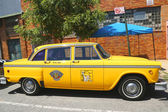 Checker Marathon taxi car produced by the Checker Motors Corporation — Stock Photo
