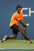 Professional tennis player Gael Monfils during second round match at US Open 2013 — Stock Photo