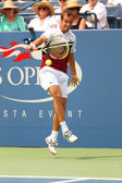 Professional tennis player Richard Gasquet during first round match at US Open 2013 — Foto de Stock