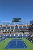 Stadio di arthur ashe presso il jean billie re centro tennis nazionale pronta per noi il torneo open — Foto Stock