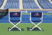 Arthur Ashe Stadium at the Billie Jean King National Tennis Center ready for US Open tournament — Stock Photo