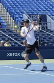 Grand Slam Champion Andy Murray practices for US Open 2014 at Billie Jean King National Tennis Center — Stock fotografie