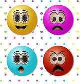 Emoticons — Stock Vector
