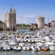 Harbour of La Rochelle, France — Stock Photo