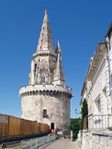 Tour de la Lanterne in la Rochelle, France — Stock Photo