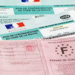 Avis de contravention code de la route — Stock Photo
