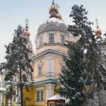 Zenkov Cathedral in Almaty — Stock Photo #12334139