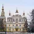 Zenkov Cathedral in Almaty — Stock Photo #12334141
