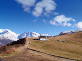 The land of Mont-Blanc, French Alps — Stock Photo