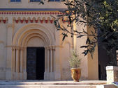 Chusclan - Provençal village in southern France — Stock Photo
