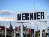 Nernier, francia, lago de ginebra — Foto de Stock