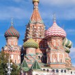 Saint Basil Cathedral at the Red Square — Stock Photo