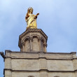 Stock Photo: Virgin Mary statue in Avignon, Popes