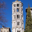Fenestrelle Tower, Saint-Theodorit Cathedral in Uzes — Stock Photo