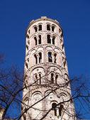 Fenestrelle tower, saint-theodorit katedralen i Uzès — Stockfoto