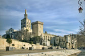 The Popes palace, avignon, france — Stock Photo
