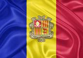 Flag of Andorra — Stock Photo