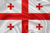 Flag of Georgia — Stock Photo