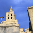 The Popes Palace in Avignon, France — Stock Photo