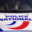 French police — Stock Photo