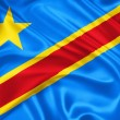 Flag of Democratic Republic of Congo — Stock Photo #24396155