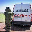 Stock Photo: Bomb Squad (Deminage)