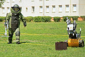 Bomb Squad (Deminage) — Stock Photo
