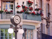 Clock in Old center of Avignon, France — Stock Photo