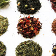 Tea assortment — Stock Photo