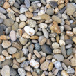 Smooth river stone background — Stock Photo