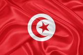 Flag of Tunisia — Stock Photo