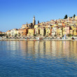Provence village of Menton on french Riviera — Stock Photo #27911745