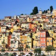 Provence village of Menton on the french Riviera — Stock Photo